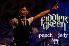 Fiddler's  Green & punch'n'judy – Wall of Folk Tour 2012 − 12.01.2012, Posthalle, Würzburg-Titelbild