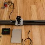 Slider V2 - Umlenkrolle mit Motorhalterung montiert